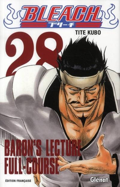 BLEACH VOLUME 28: BARON'S LECTURE FULL COURSE SHONEN JUMP MANGA BY TITE KUBO