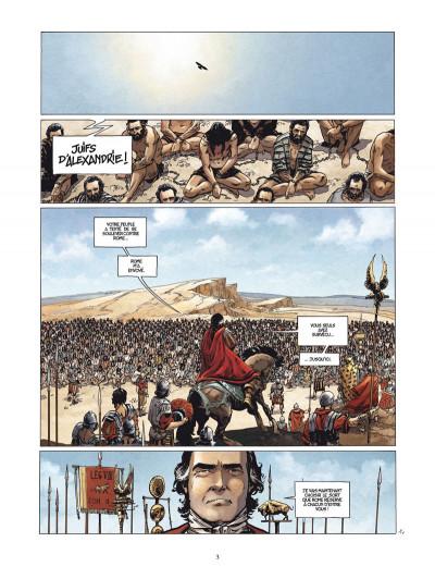Page 1 le troisième testament - julius tome 1