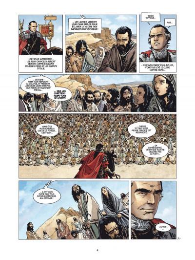 Page 2 le troisième testament - julius tome 1