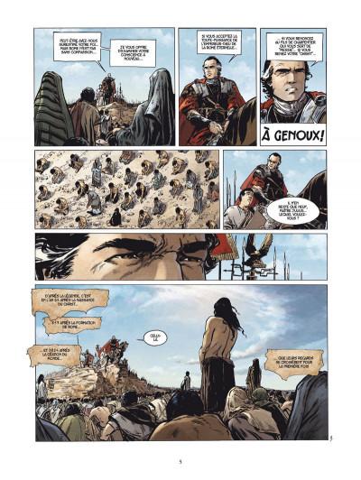 Page 3 le troisième testament - julius tome 1