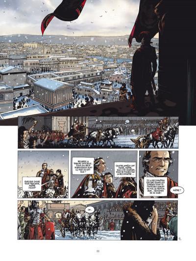 Page 9 le troisième testament - julius tome 1