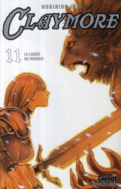 Couverture Claymore tome 11