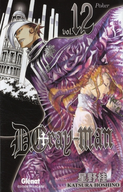Couverture d.gray-man tome 12 - poker