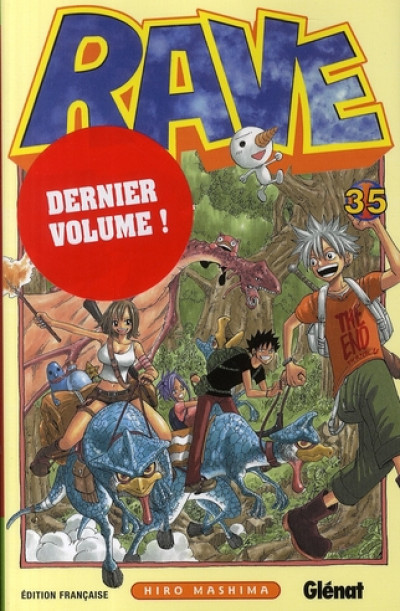 Couverture rave tome 35