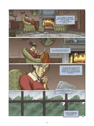Page 3 l'ultime chimère tome 6 - le meurtre