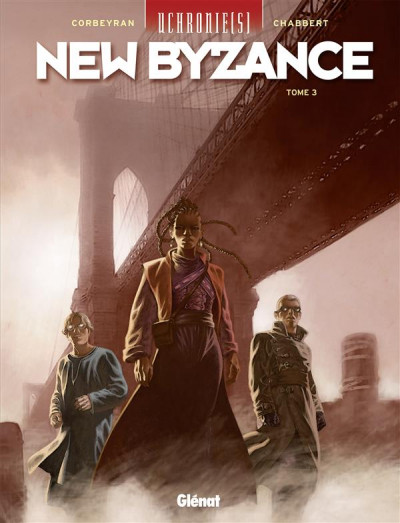 Couverture Uchronie(s) - New Byzance tome 3