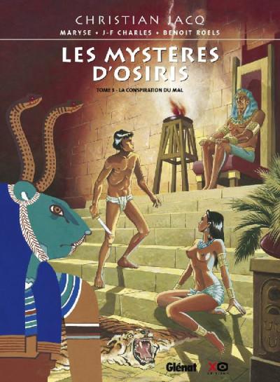 image de les mystères d'osiris tome 3 - la conspiration du mal