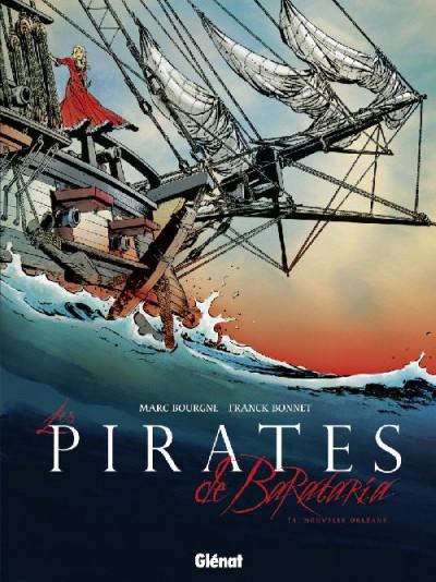Couverture les pirates de barataria tome 1 - nouvelle orléans