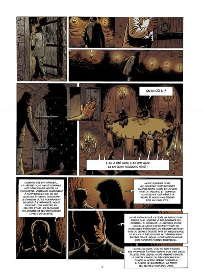 Page 2 disparitions, retour aux sources tome 3
