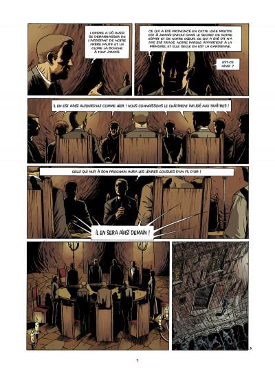 Page 3 disparitions, retour aux sources tome 3