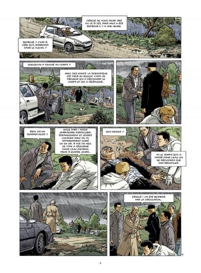 Page 4 disparitions, retour aux sources tome 3