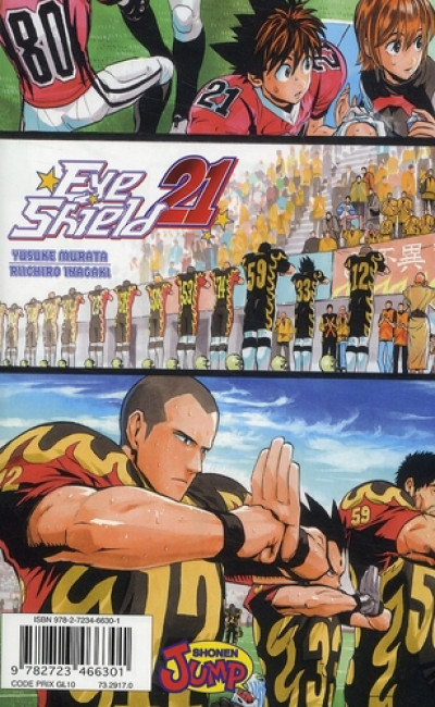 Dos eye shield 21 tome 23 - vers le grand affrontement...