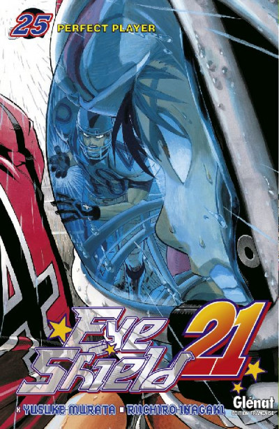 Couverture eye shield 21 tome 25 - perfect player