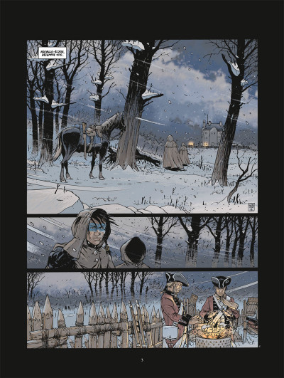 Page 1 Black crow tome 1
