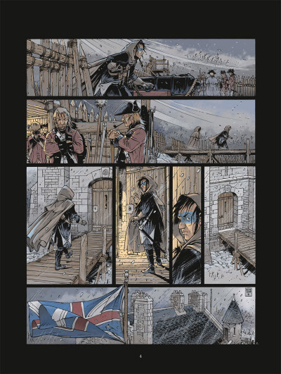 Page 2 Black crow tome 1
