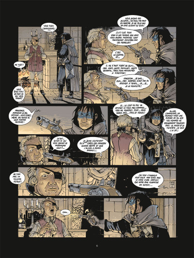 Page 4 Black crow tome 1