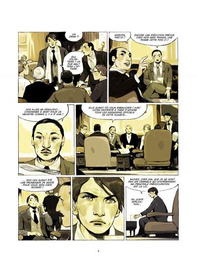 Page 3 destins tome 2 - le fils