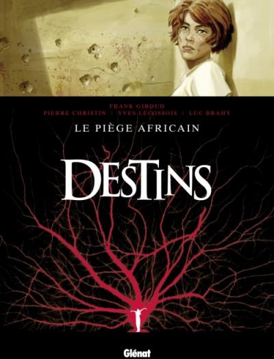 Couverture destins tome 3 - le piège africain