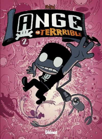 Couverture ange le terrible tome 2