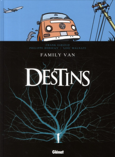 Couverture destins tome 8 - family Van