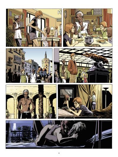 Page 4 destins tome 10 - le mur
