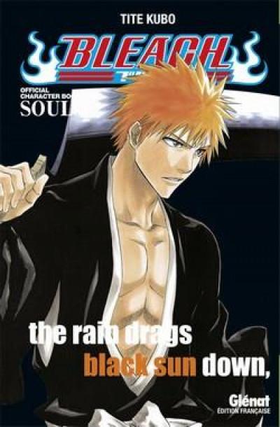Couverture bleach ; souls : the rain drags black sun down (fan book)