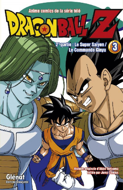 Couverture dragon ball z - cycle 2 tome 3