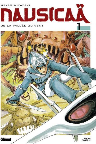 Couverture nausicaä de la vallée du vent tome 1 - nouvelle edition
