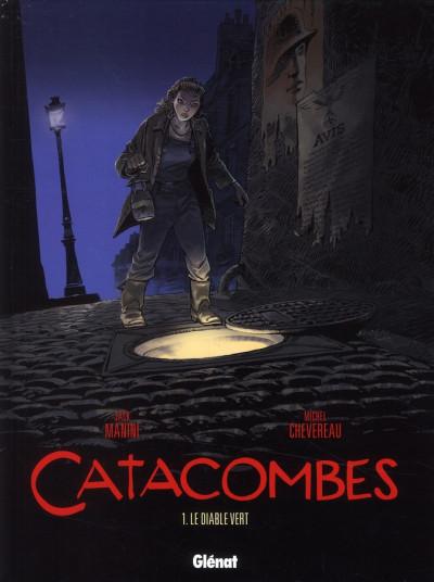 image de catacombes tome 1 - le diable vert