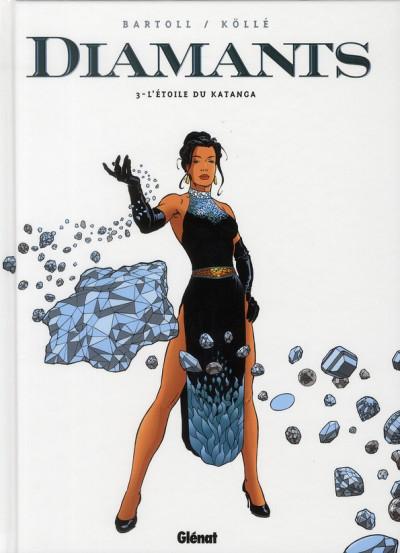 Couverture diamants tome 3 - l'étoile de katanga