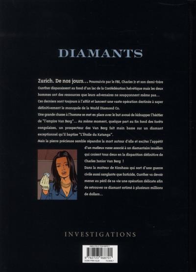Dos diamants tome 3 - l'étoile de katanga