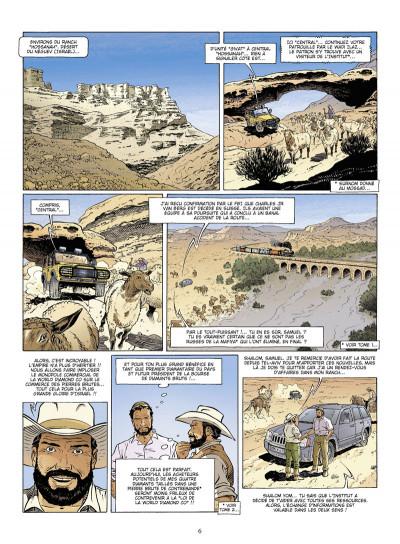 Page 4 diamants tome 3 - l'étoile de katanga