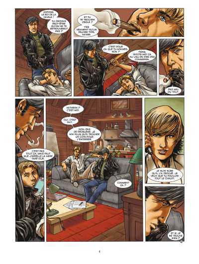 Page 2 flor de luna tome 3 - La fabrica