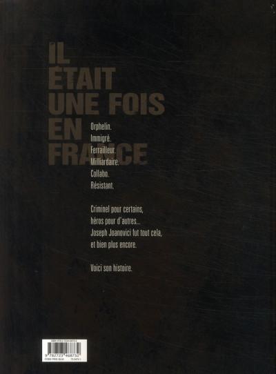 Dos Il était une fois en france tome 3
