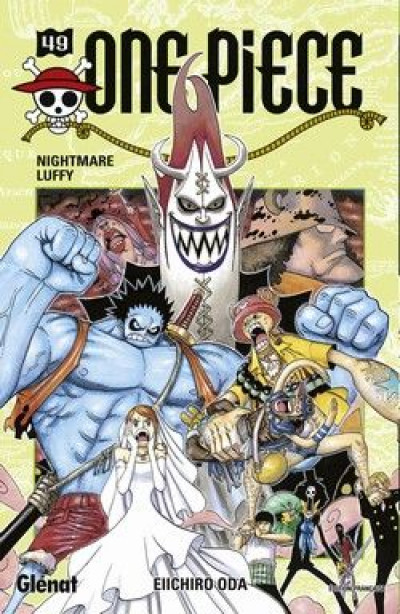 Couverture one piece tome 49 - nightmare luffy