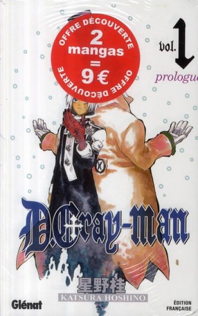 Couverture d.gray-man - tome 1 et tome 2