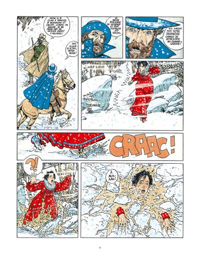 Page 3 les 7 vies de l'épervier ; intégrale 40 ans