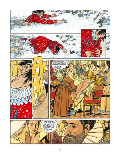 Page 4 les 7 vies de l'épervier ; intégrale 40 ans