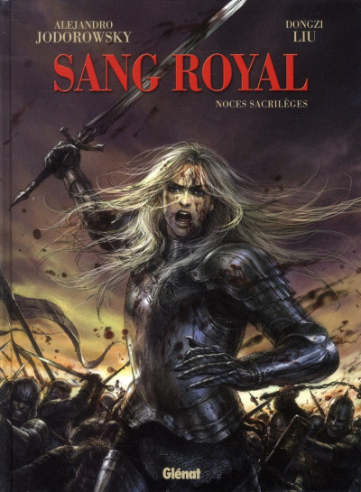 Couverture sang royal tome 1 - noces sacrilèges