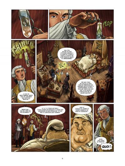 Page 4 saint-germain tome 2 - le marquis de l'ombre