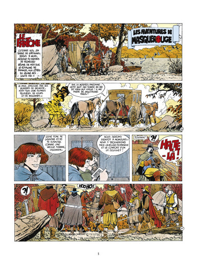 Page 1 masquerouge - tome 1 à tome 3