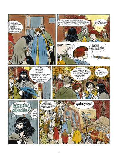 Page 2 masquerouge - tome 1 à tome 3