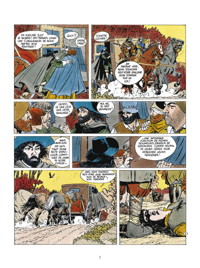 Page 3 masquerouge - tome 1 à tome 3