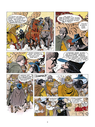 Page 4 masquerouge - tome 1 à tome 3