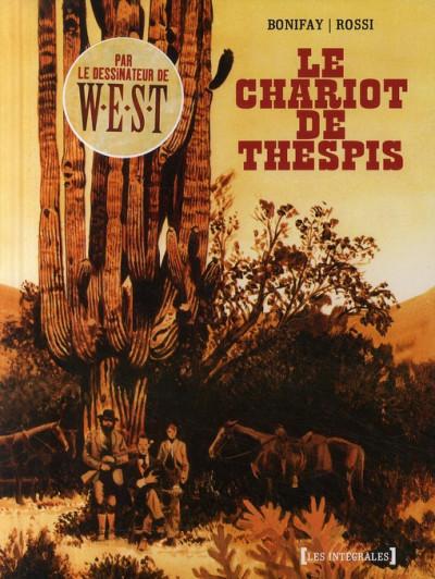 image de le chariot de thespis ; intégrale