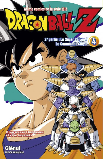 Couverture dragon ball z - cycle 2 tome 4