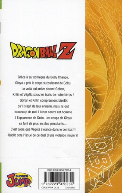 Dos dragon ball z - cycle 2 tome 6