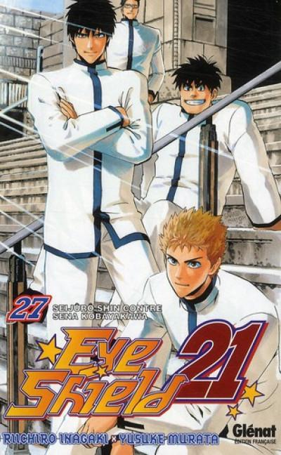 image de eye shield 21 tome 27 - Seijuro Shin contre Sena Kobayakawa