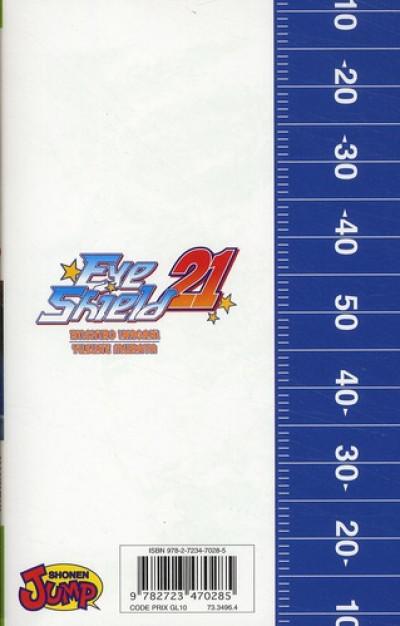 Dos eye shield 21 tome 28 - Finale au Tokyo dome