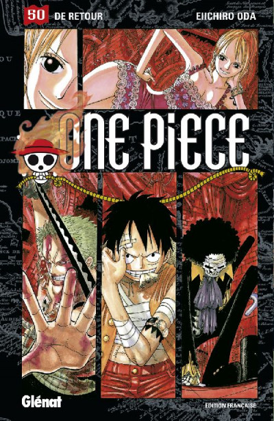 Couverture one piece tome 50 - de retour